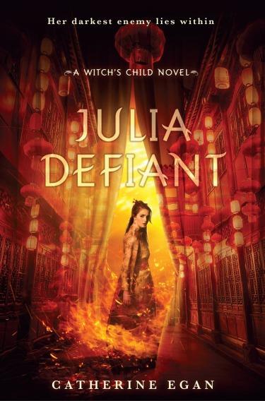 JULIA DEFIANT Cover