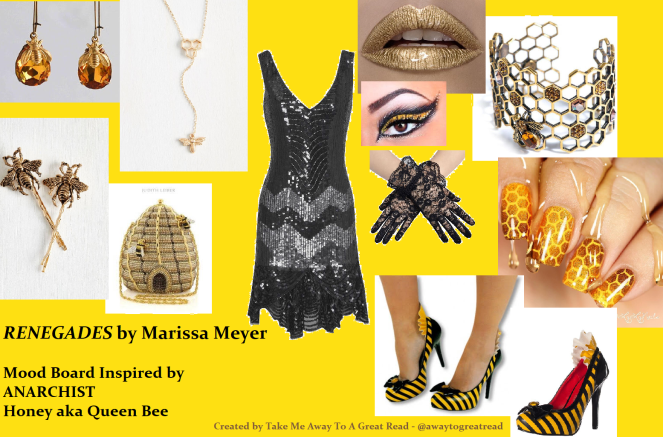Queen Bee Mood Board